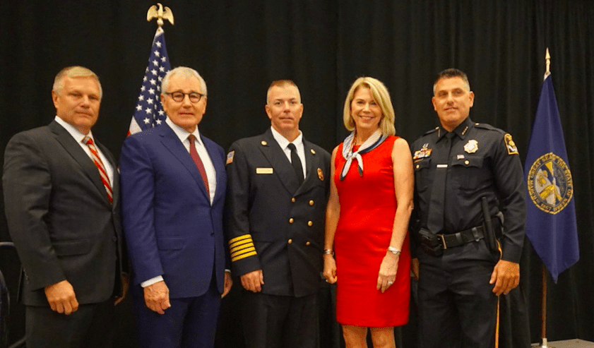 Thank you for all who attended The Third Annual 9/11 Luncheon of Honor