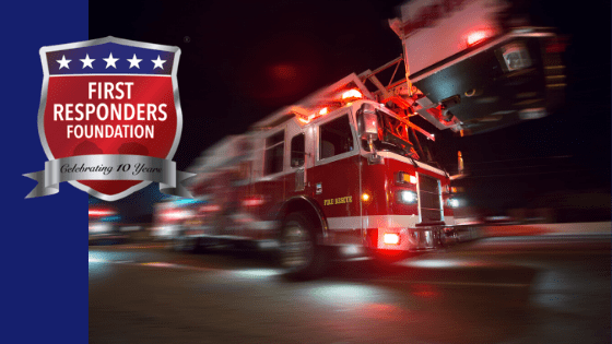 Support the First Responders Foundation Today & Stand With Them!