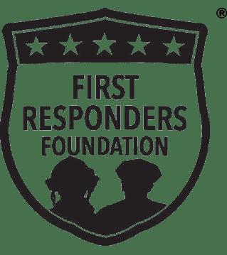 First Responders Foundation Black logo