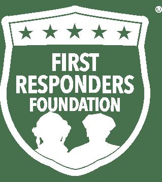 First Responders Foundation White logo