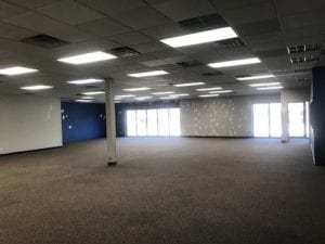 LArge open space in the new building