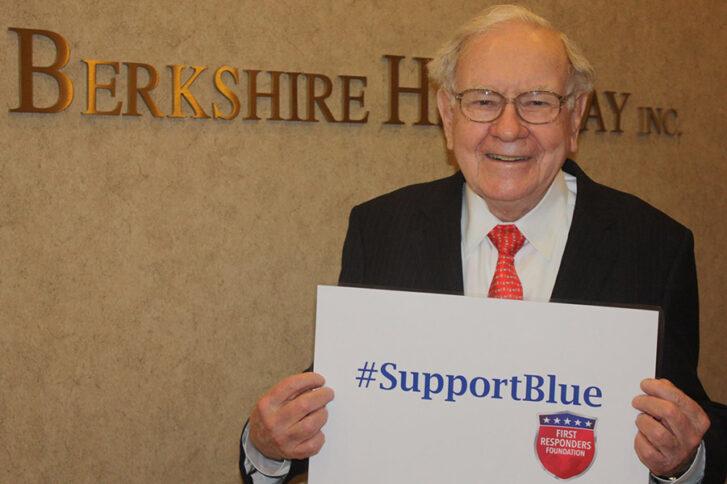 Warren Buffett #SupportBlue