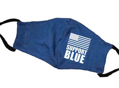 Support Blue Mask