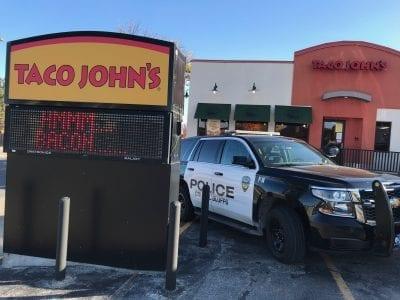 Council Bluffs Police Cruiser