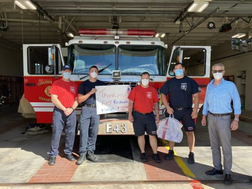 Appreciation Lunches for First Responders